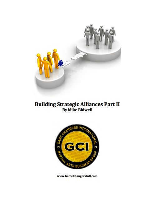Building Strategic Alliances Part 2