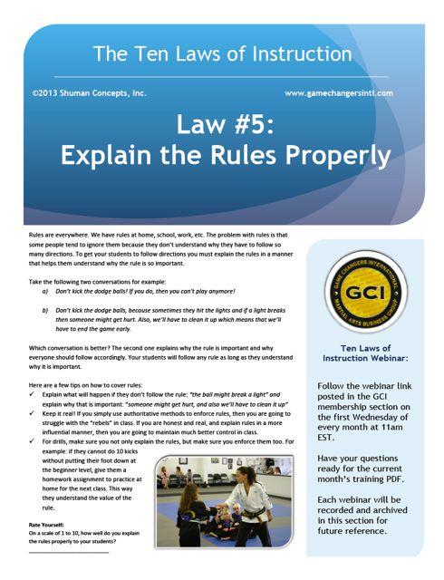Law #5 PDF