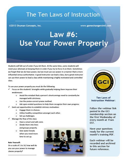 Law #6 PDF
