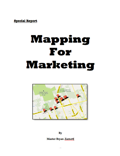 Mapping for Marketing Image