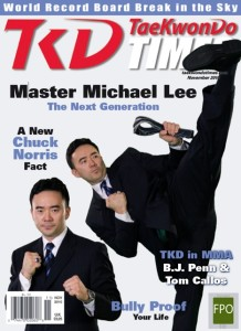 Mike Lee TKD Times Cover