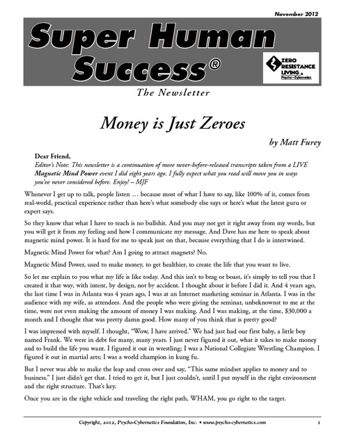 Money is Just Zeros-Part 1