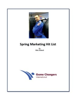 Spring Marketing Hit List Image