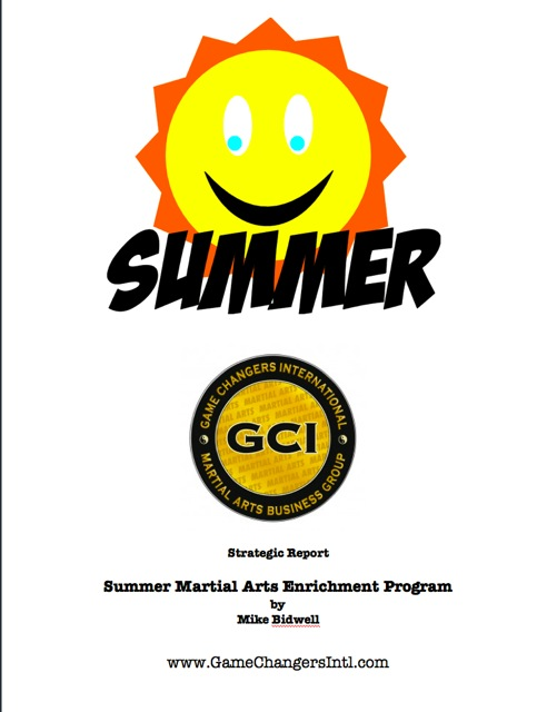 Summer Martial Arts Enrichment Program
