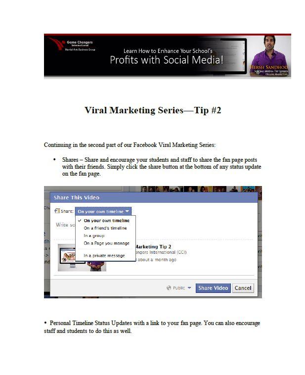 Viral Marketing Tip 2 Image